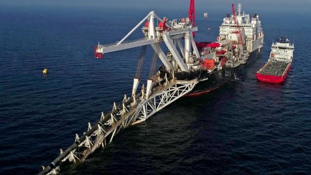 Gas-Pipeline Nord Stream 2