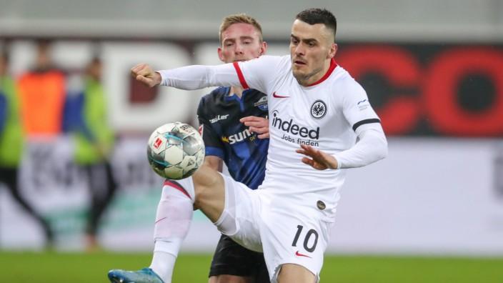 SC Paderborn 07 - Eintracht Frankfurt