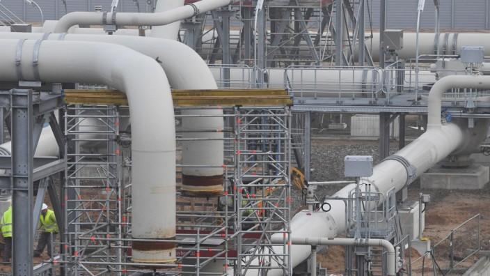 Nord Stream 2 - Baustelle Empfangsstation