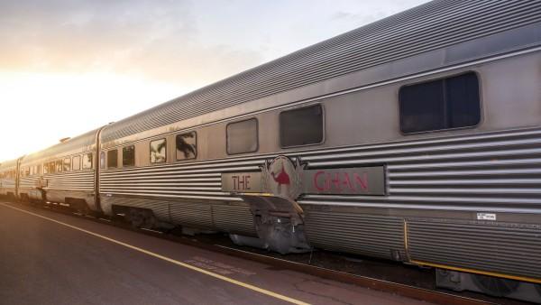 THE GHAN 90TH ANNIVERSARY *FILE* The Ghan in Darwin Tuesday November 6 2018 The Ghan train serv