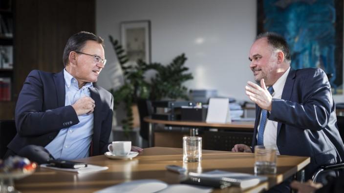 Interview Axel Gedaschko und Lukas Siebenkotten; Doppelinterview Axel Gedaschko und Lukas Siebenkotten