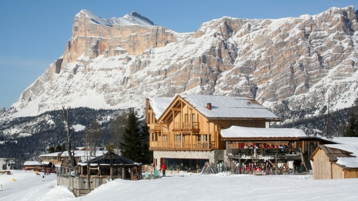 Südtirol Dolomiten Las Vegas Lodge Skigebiet Skifahren