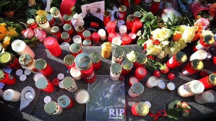 Trauerfeier für den in Augsburg getöteten Mann