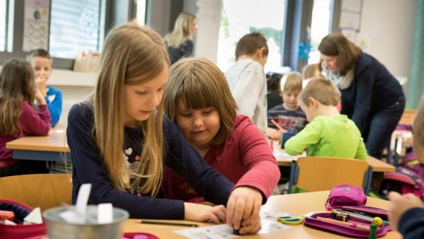 Flexiklasse in der Grundschule Tittmoning im Chiemgau