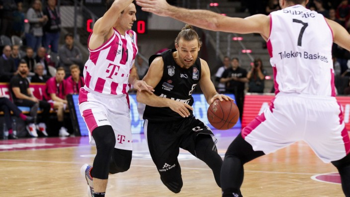 BBL easyCredit Basketball Bundesliga Saison 2019/2020 13. Spieltag am Donnerstag, 26. Dezember 2019 im Telekom Dome in
