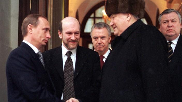 Russland: Präsident Boris Jelzin tritt ab