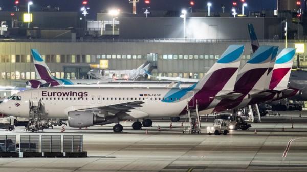 Germanwings Streik Düsseldorf