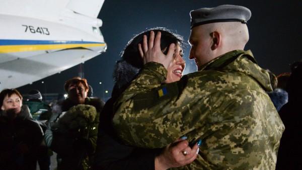 Gefangenenaustausch in der Ukraine