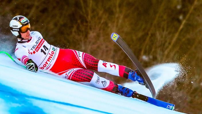Ski-Weltcup in Bormio - Abfahrt