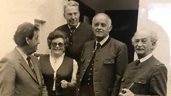 Anni und Rudolf Schierl Sauschütt Hohenlinden