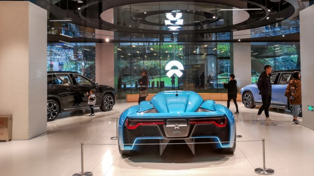 Tesla rival Nio sold a record 11,348 vehicles 2018