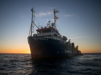 Rettungsschiff ´Sea-Watch 3