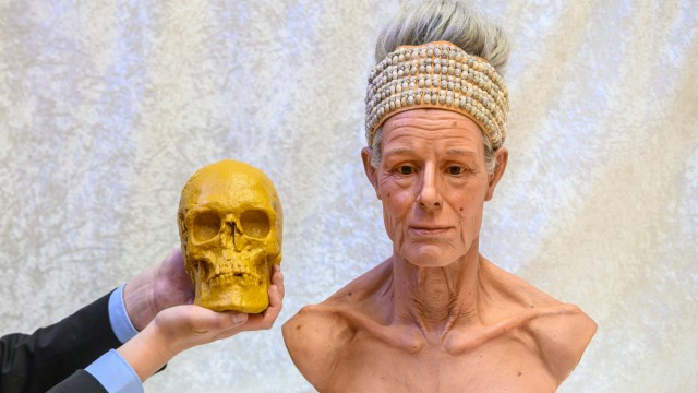 """Museum gibt der ´Toten von Niederpöring"""" ein Gesicht"""