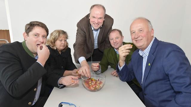 Wasdas Jahr 2020 bringt: Florian Riegel, Annette Ganssmüller-Maluche, Christoph Göbel, Otto Bußjäger und Christoph Nadler (von links).