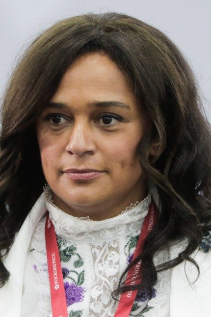 ST PETERSBURG RUSSIA JUNE 7 2019 A member of the Board of Directors at Unitel SA Isabel Dos S