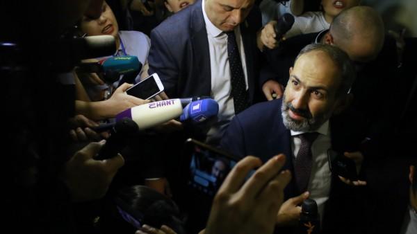 Paschinjan zum neuen Regierungschef inArmenien gewählt