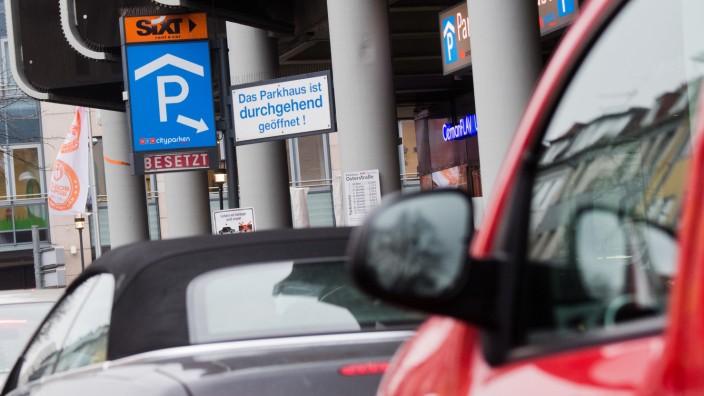 Parkplätze in Innenstädten