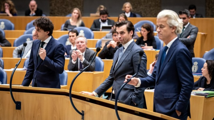 DEN HAAG, 27-11-2019, Debate about the civilian deaths as a result of a bombing by a Dutch F16 in Hawija. Groenlinks Mem