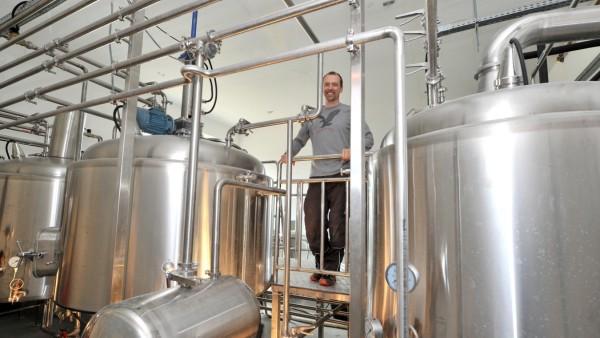 Geisenbrunn/Gilching: Brauerei Braukraft