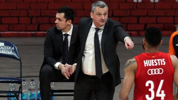 Basketball, EuroLeague, Roter Stern Belgrad - Bayern München 02.01.2020 Belgrade(Serbia) KK Crvena Zvezda MTS(Red Star)-