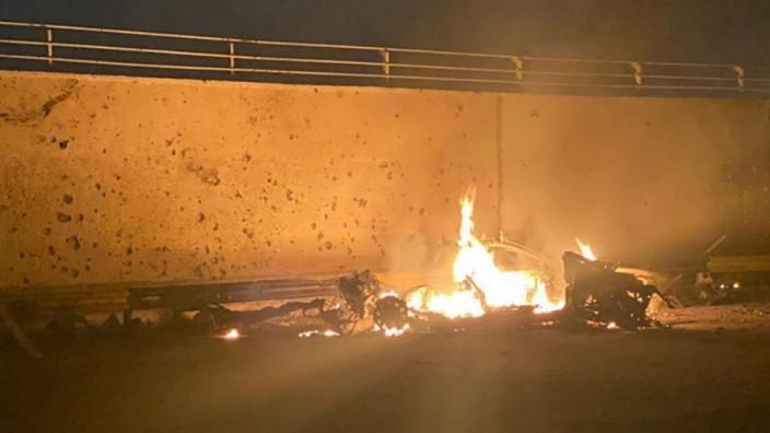 US-Luftangriff in Bagdad