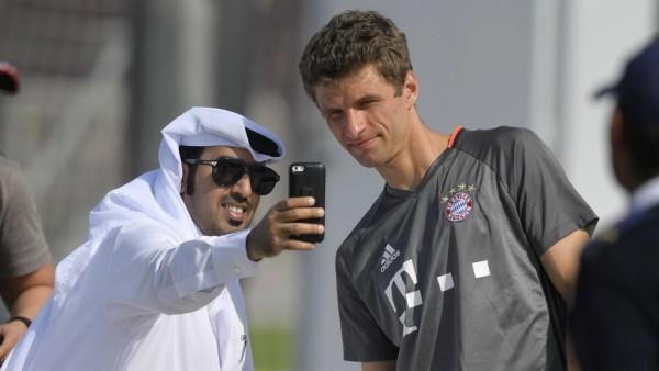 05 01 2017 Fussball 1 Bundesliga 2016 2017 FC Bayern München Wintertrainingslager in Doha Katar; FC Bayern