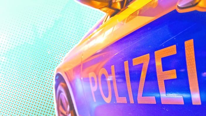 Symbolbild: Ein Auto der bayerischen Polizei