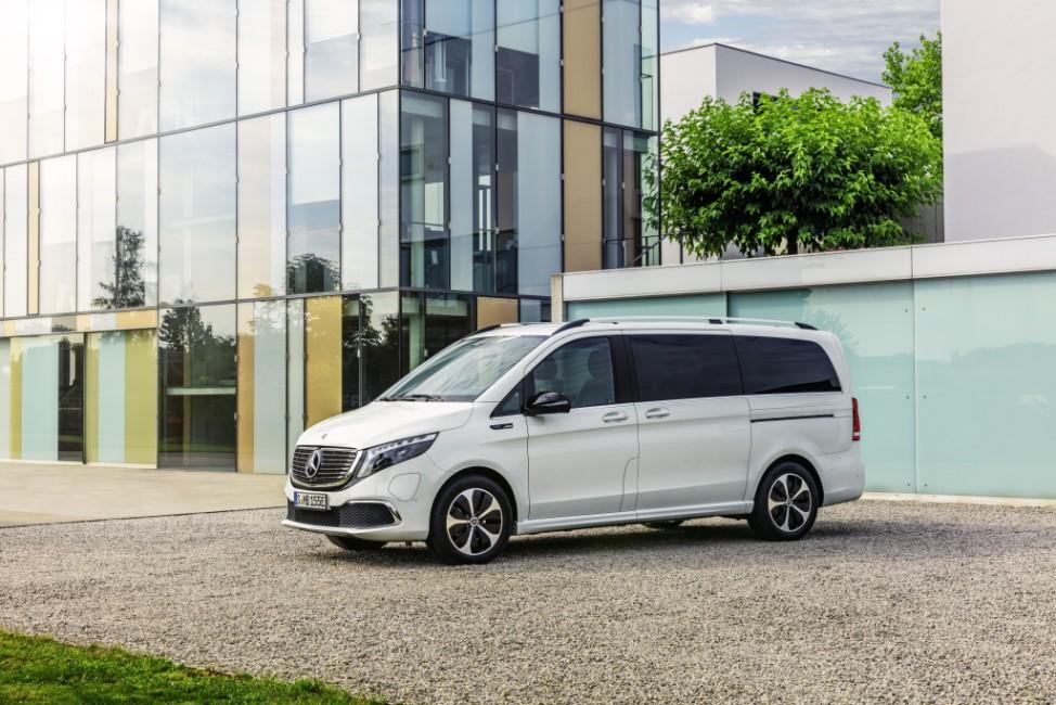 Mercedes-Benz EQV: Weltpremiere für die erste Premium-Großraumlimousine mit elektrischem Antrieb  Mercedes-Benz EQV: World Premiere for the first fully-electric premium MPV; Mercedes EQV