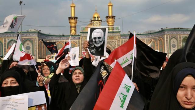 Proteste in Kerbela, Qassim Soleimani