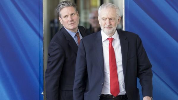 Jeremy Corbyn Meet With Michel Barnier In Brussels