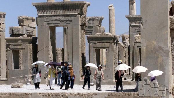 Konflikt Iran-USA Iran Touristen Persepolis Unesco