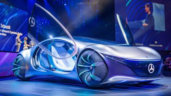 Technik-Messe CES - Daimler