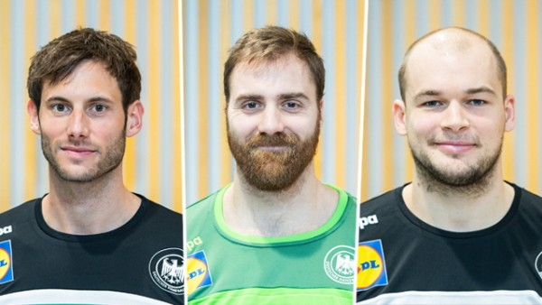 Uwe Gensheimer, Andreas Wolff, Paul Drux