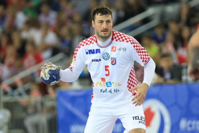 Zagreb, 23.10.2019. - Friendly handball match between Croatia and Germany at the Zagreb Arena. Croatia (white) - Germany; Kroatien Handball Domagoj Duvnjak