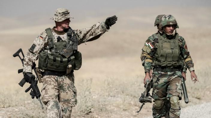 Bundeswehr Mission Irak