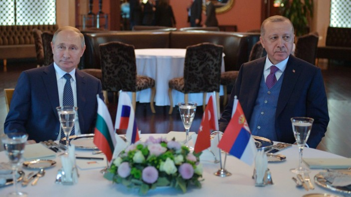 Putin Erdogan Russland Türkei