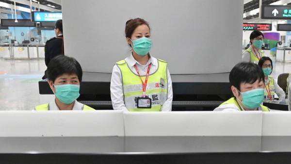 Einreisekontrolle in Hongkong nach Entdeckung eines neuen Coronavirus