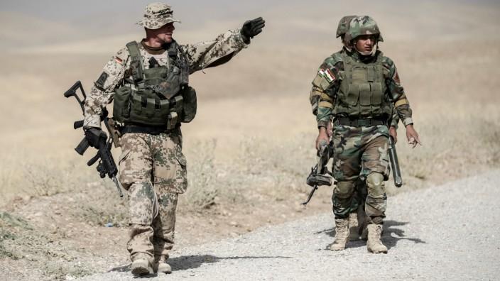 Deutsche Soldaten im Raum Erbil nach Raketenangriffe wohlbehalten