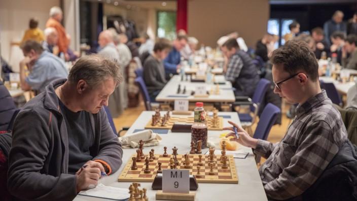 Schach Kreismeisterschaften Stadthalle Germering