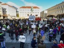 Demo Fridays for Future in München