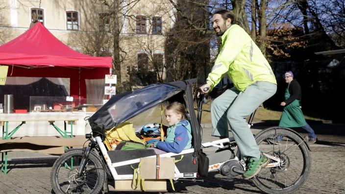 Freising: An diesem Samstag, 10. Juli, gibt es einen großen Lastenrad-Test-Tag in der Freisinger Innenstadt.