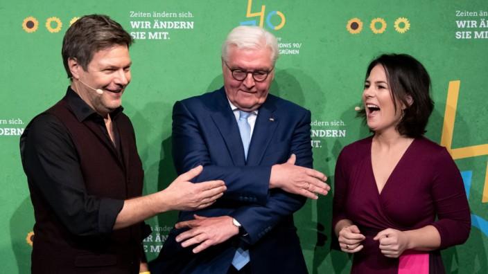 Feier zu 30 Jahre Bündnis 90 und 40 Jahre Die Grünen