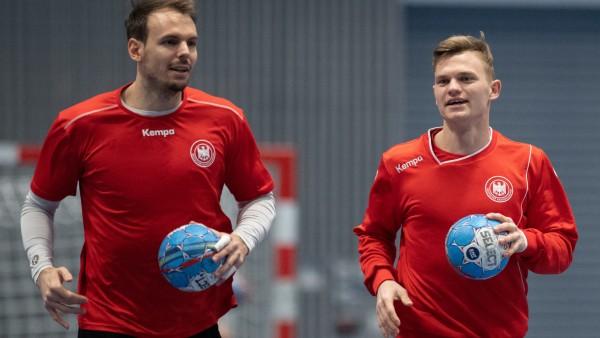 Handball EM: Training Deutschland
