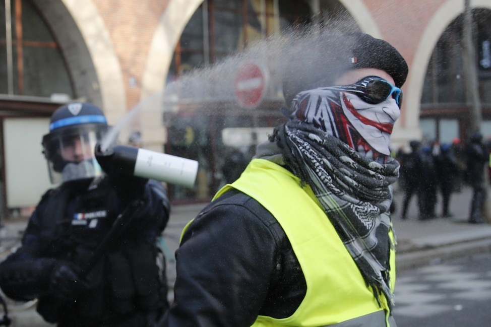 Demonstrationen in Frankreich