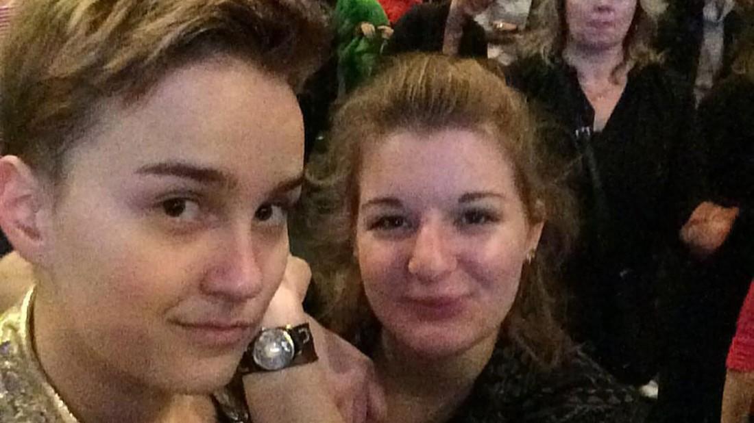 Sophie Grau und Eva Klopfer