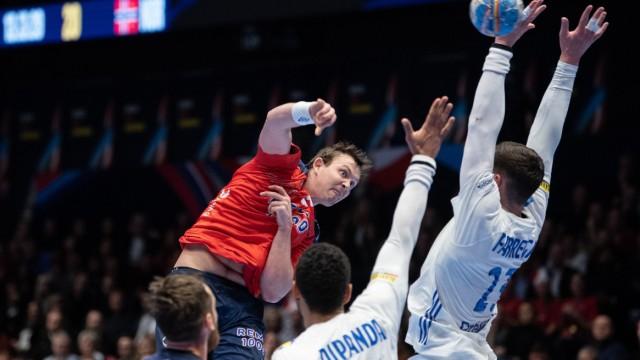 Handball EM: Frankreich - Norwegen