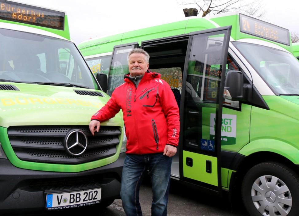 Start der Bürgerbusse im Vogtland