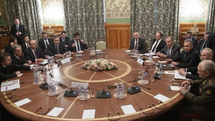 Libyen-Konferenz: Gespräche in Moskau 2020 über Waffenstillstand in Libyen
