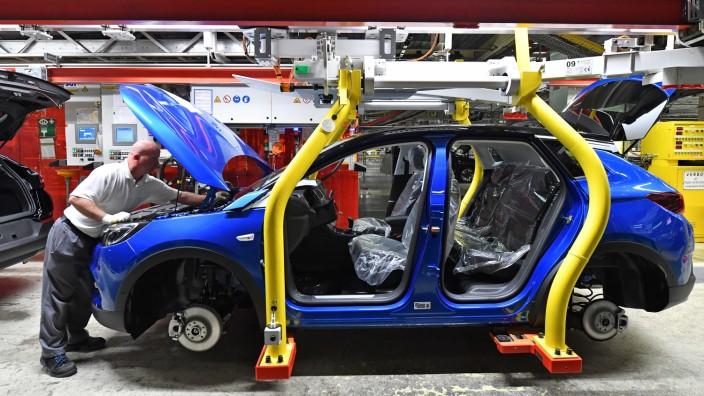 Opel startet Produktion für SUV 'Grandland X'