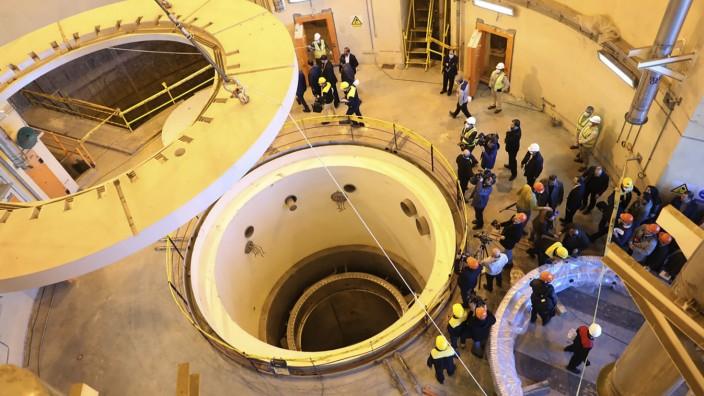 Atomabkommen mit Iran: Schwerwasserreaktor in Arak
